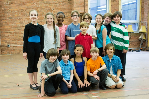 The kids of the 2013 Broadway tour of A Christmas Story the Musical. - Photo Credit: Jennifer Broski