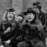 Rehearsing with John Bolton, Erin Dilly, & Jake Lucas © David Gordon