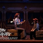 Beth Malone and Noah in SDMT Production of Annie Get Your Gun - Photo Credit: Ken Jaques