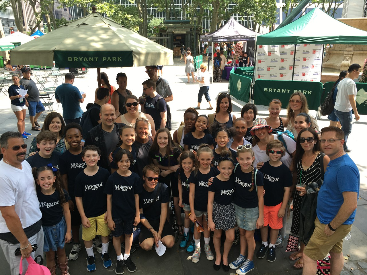 Broadway in Bryant Park 2016