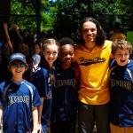 Noah and friends with Anthony Ramos (Hamilton).