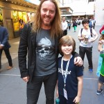 Noah and Tim Minchin (Music & Lyrics for Matilda the Musical and all around awesome guy)